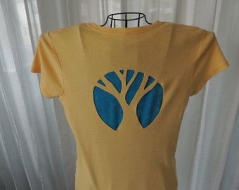 Redesigned Shirt, Slashed Tshirt, Reconstructed Shirt, Cut Out Tree Shirt