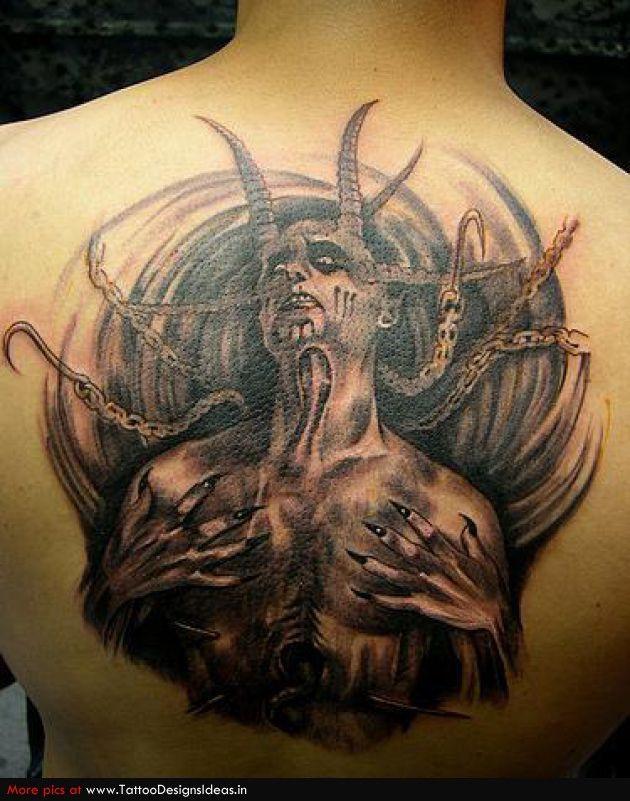 devils and demons tattoo art originally believed to be a sign of evil devil tattoos have. Black Bedroom Furniture Sets. Home Design Ideas