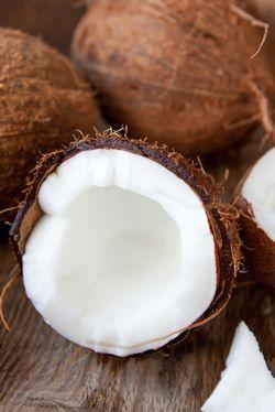 Coconut Financier Cake