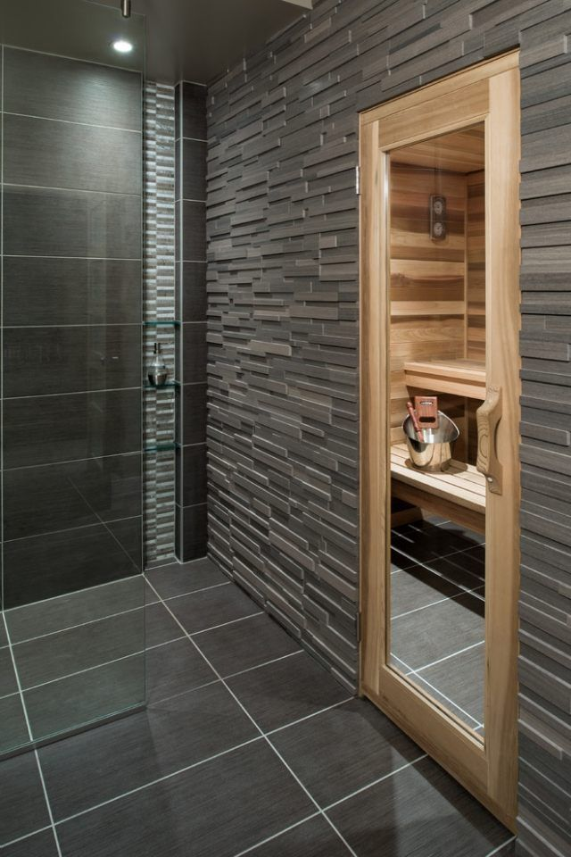 283 best saunas images on pinterest, Badezimmer dekoo