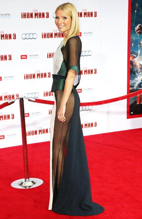 Antonio Berardi, the designer of Gwyneth Paltrows see-through Iron Man 3 premiere dress, says it is sensual and not vulgar.