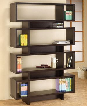 800307 Four Tier Bookcase modern-bookcases - Houzz