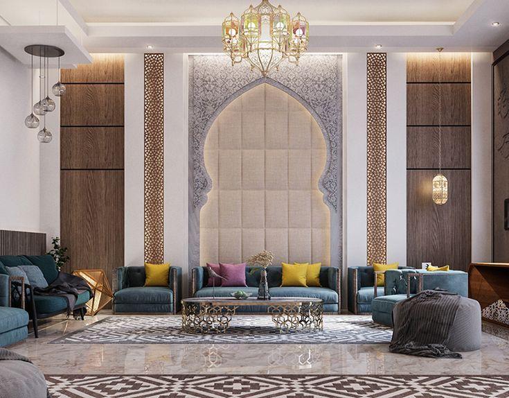 Islamic Villa Uae On Behance Home Room Design