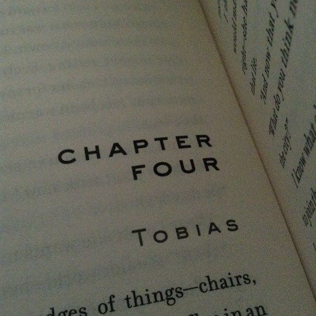 """This chapter in Allegiant: 