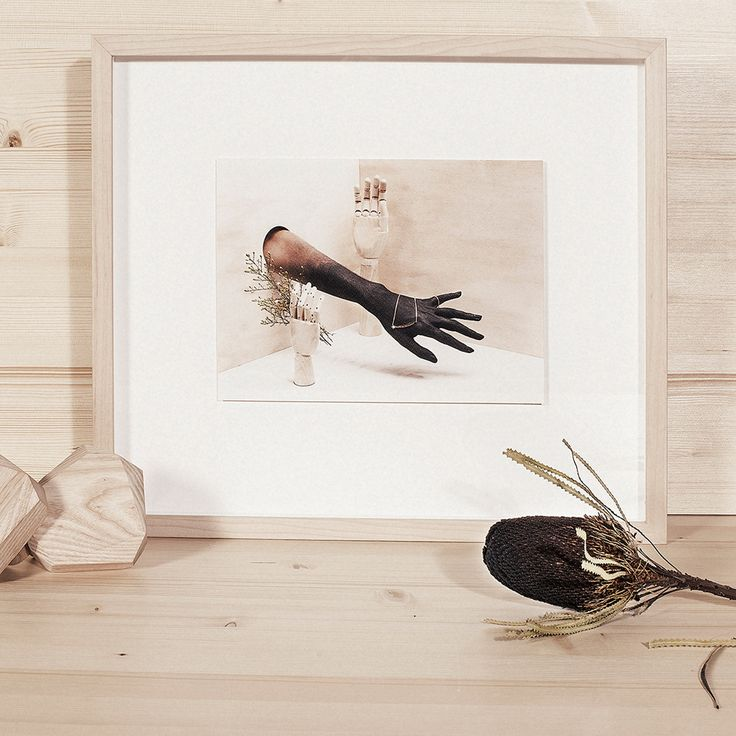 ZOE AND MORGAN, SHOOTING STARS FRAMED PRINT  'Be humble for you are made of earth, be noble, you are made of stars'  300mm x 220 mm Natural wood frames, 4.5 deep by 2cm wide. 7cm around each floating image.  Photographer: Calypso Paoli