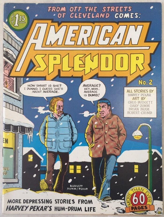 American Splendor #2 , 1977 Harvey Pekar | eBay