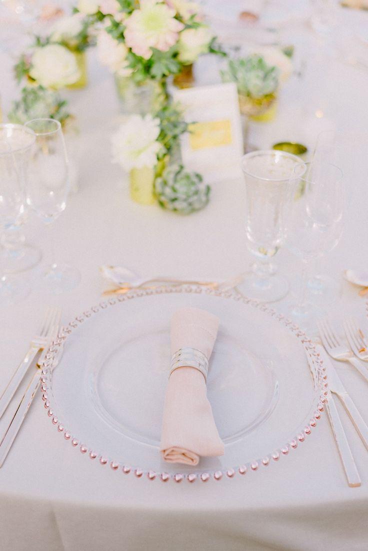 blush rose gold wedding decor | art de la table | Wedding reception decor | wedding table decorations | rose gold wedding table decorations | Lebanese Wedding Athenian Riviera | Elegant Wedding | Luxury Weddings | Greek Island Weddings | Destination Wedding