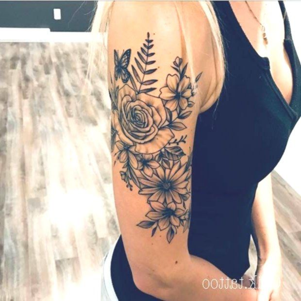 43 Beautiful Flower Tattoos For Women With Images Beautiful