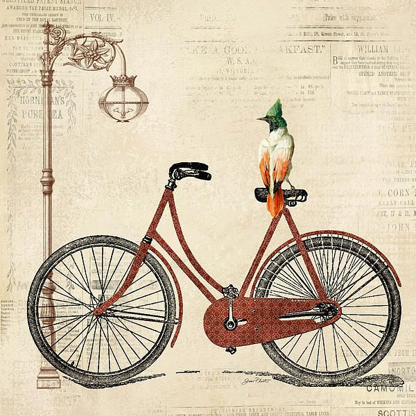 I uploaded new artwork to fineartamerica.com! - 'Vintage Bike-a' - http://fineartamerica.com/featured/vintage-bike-a-jean-plout.html via @fineartamerica