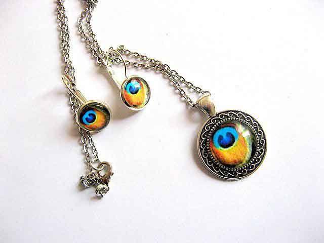 #Set #bijuterie #pana de #paun #culori #galben cu #albastru, set bijuterie #femei / set #lucrat #manual http://handmade.luxdesign28.ro/produs/set-bijuterie-pana-de-paun-culori-galben-cu-albastru-set-bijuterie-femei-29597/
