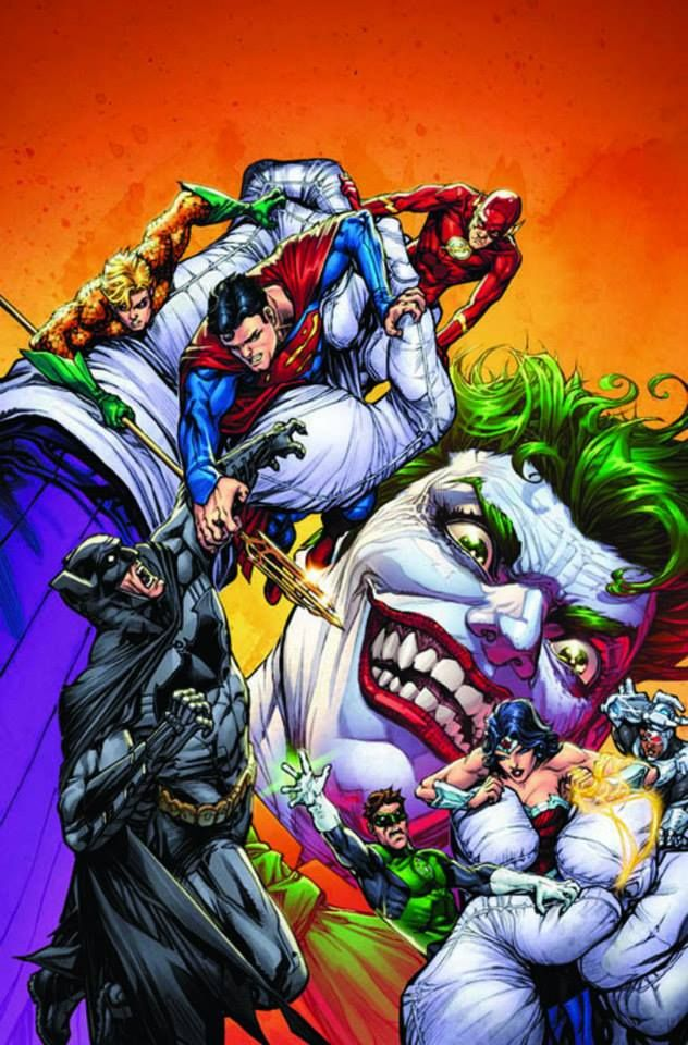 Justice League of America #1 - The Joker variant cover by Howard Porter