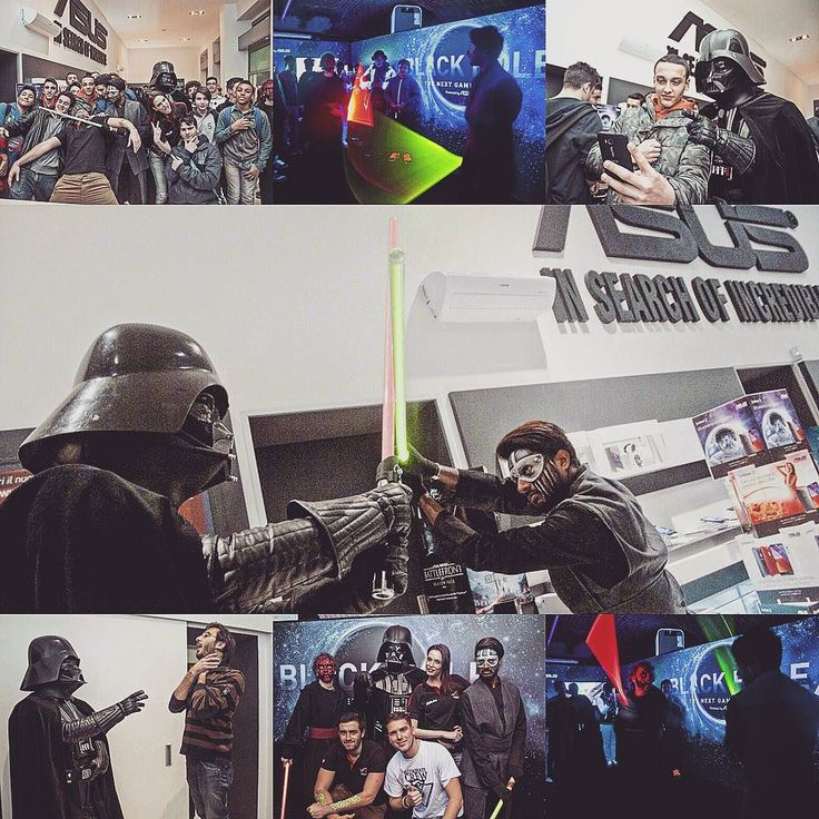Shooting for #Asus  Black Hole Marathon  #StarWars #Milano