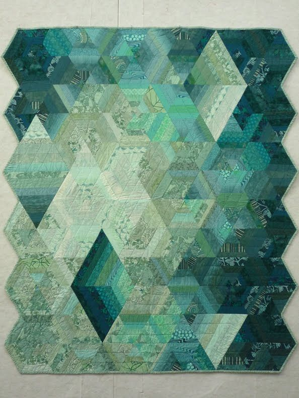 I have had the honor of having one of my quilts accepted to the special exhibit area for the Portland Modern Quilt Guild  at this year's Sis...