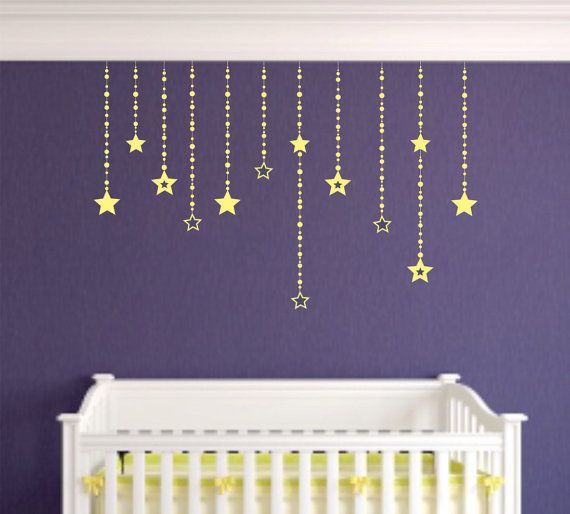 31 best Sun, Moon, Stars & Clouds Wall Decals images on Pinterest ...