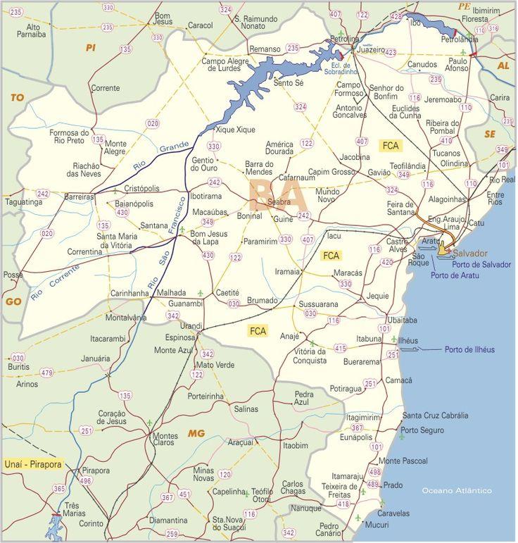 Mapas da Bahia - Ache Tudo e Região