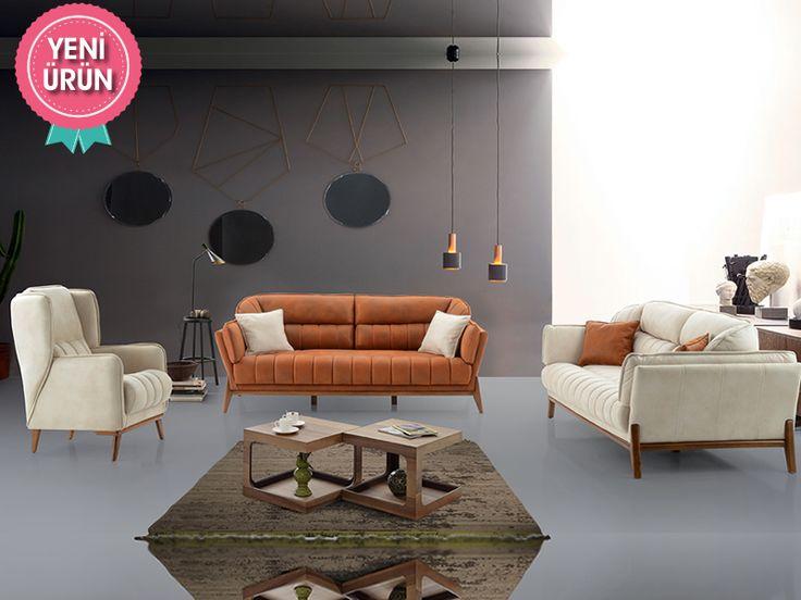 Relax Modern Koltuk Takımı konforu ve zarifliği ile sizin için tasarlandı!  #Mia #Modern #Koltuk #Takımı #Sönmez #Home #Mobilya #Mekanizma