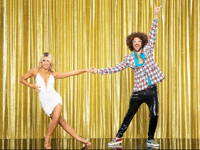 Dancing with the Stars: Meet the Season 20 Contestants and Their Partners   REDFOO   Partner: Emma SlaterAs one half of dance-pop duo LMFAO, RedFoo – who has collaborated with music royalty like Madonna, Kanye West and Will.i.am – is the first contestant to have served as a Dancing with the Stars guest judge. Will that give him the competitive edge?