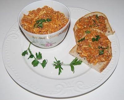 Pasta z ryby i sera
