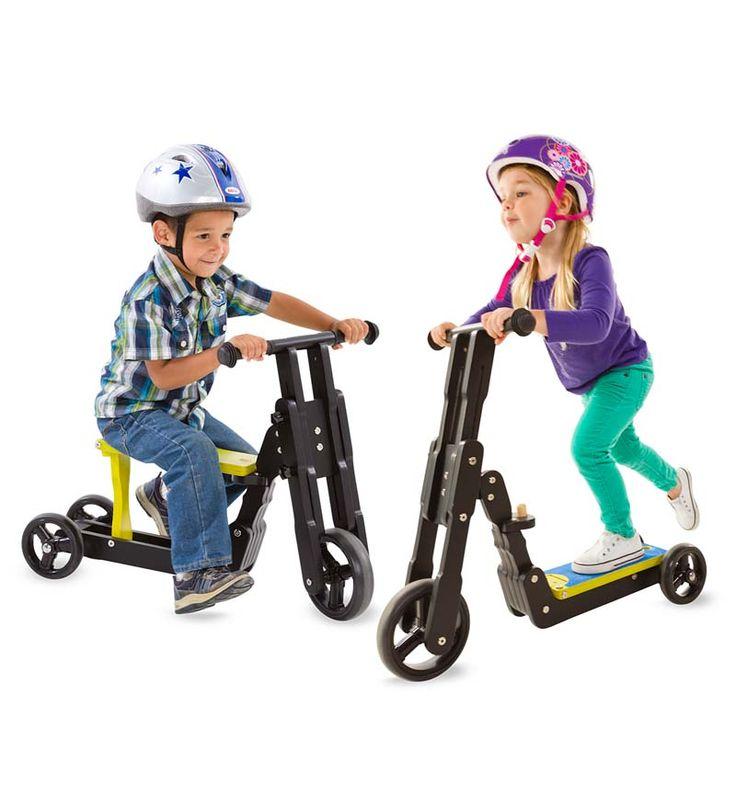 2-in-1 Scooter Bike