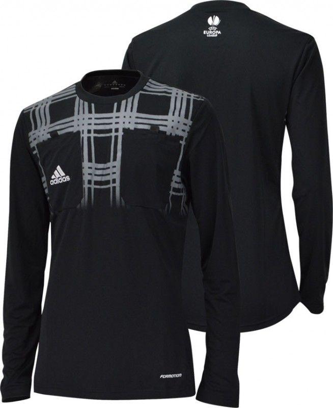 UEFA ヨーロッパリーグ12/15シーズンで実際に審判が着用していたモデル 両胸にポケット付き