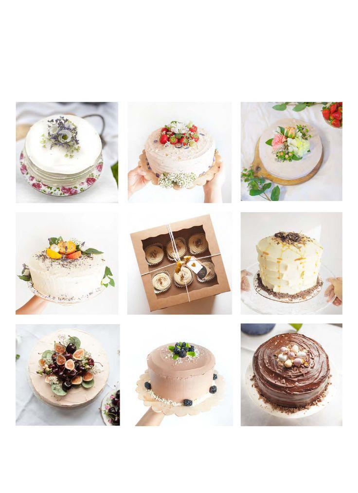 Cake Portfolio page of my new menu design.   By Cake Me! Oslo www.facebook.com/cakemeoslo