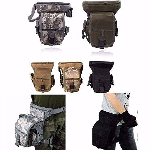 CAMTOA SWAT multiuso Armi e Tattiche Borsa Utility CS leg drop coscia pacchetto Pouch