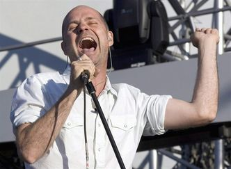 FILE--Gord Downie of the Tragically Hip performs as one of the opning acts to the Rolling Stones concert in Moncton, N.B. on Saturday, Sept. 3, 2005. Downie, the revered lead singer and primary songwriter of iconic Canadian rock band The Tragically Hip, has been diagnosed with terminal brain cancer. THE CANADIAN PRESS/Paul Chiasson