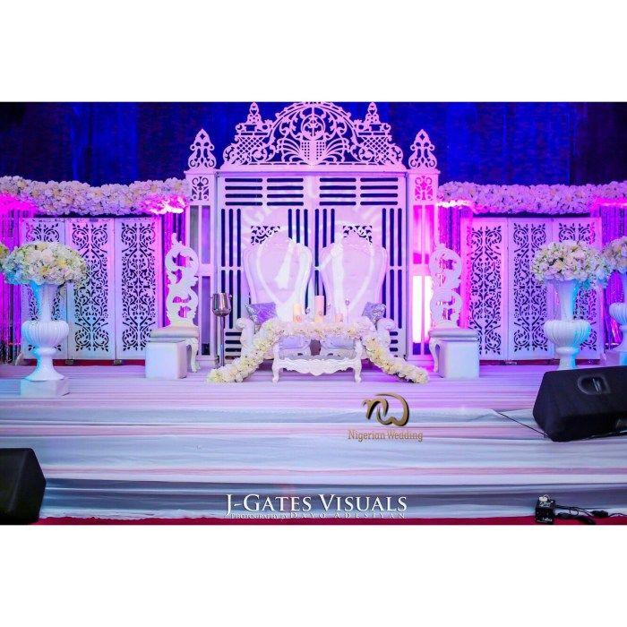 Nigerian Wedding Presents Sandra Wokocha & Nkem Obasi's Glamorous Wedding in…