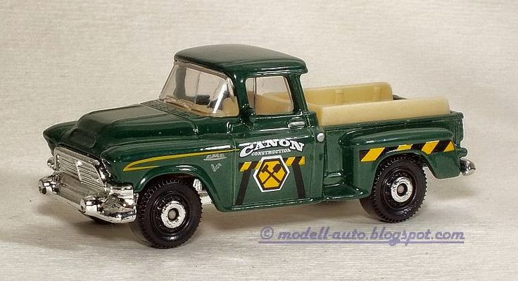 Mattel Matchbox 1957 GMC Stepside Pickup 2014 Thailand 1:64 Decals