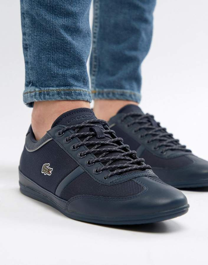 Lacoste Misano Sport Trainers In Navy