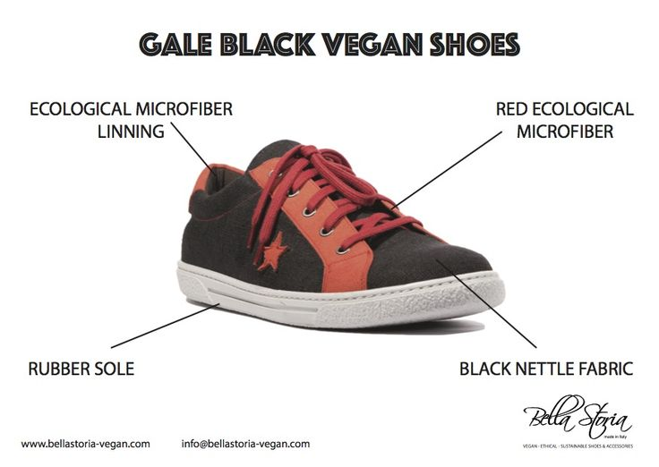 Vegan low sneaker for man. Ecological sole, nettle fabric and ecological microfibre.