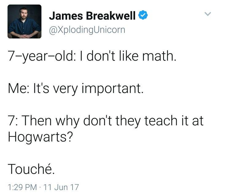 Pardon me uncultured swine that's what Arithmancy is. Math magic.