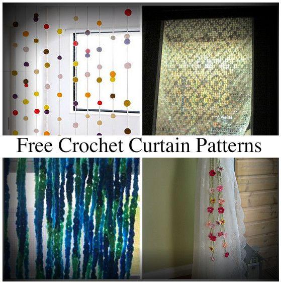 Best 25+ Crochet curtain pattern ideas on Pinterest ...