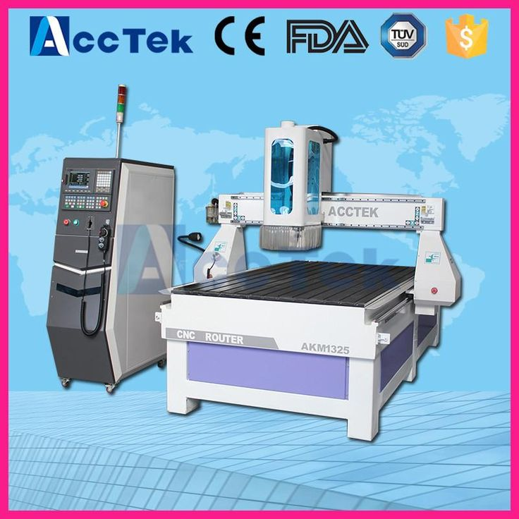 High version AccTek 1325 cnc router / herramientas para carpinteria/engraving machine
