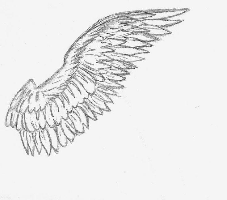 alas de angel dibujo a lapiz - Buscar con Google