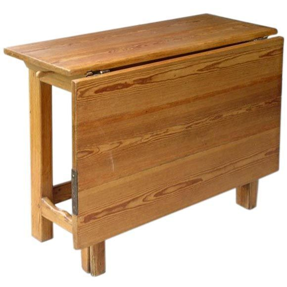 Awesome Gateleg Table One Sided This Could Be Made As An Actual Gateleg [not Drop  Leaf