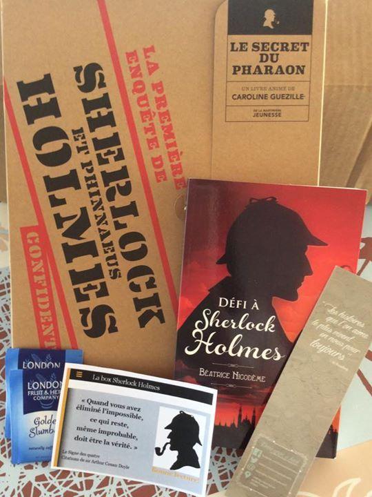 Box de Mars  Thème : Sherlock Holmes