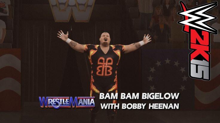 WWE 2K15 PC DLC: WWE WrestleMania VIII Arena Bam Bam Bigelow vs The Rock https://www.youtube.com/watch?v=EYPvklTvl9E #wwe2k #wwe2k15 #wwe2k15pc