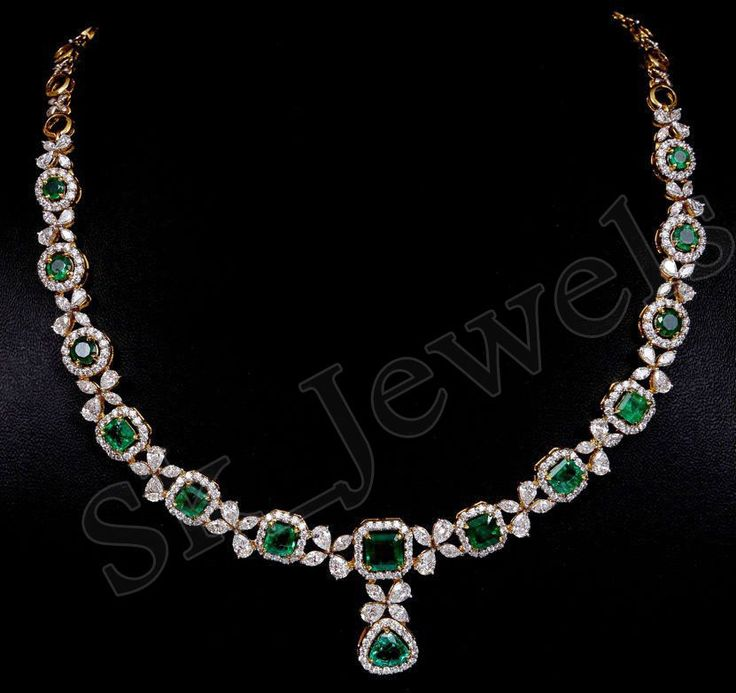 Designer Diamond Necklaces by sk_jewels