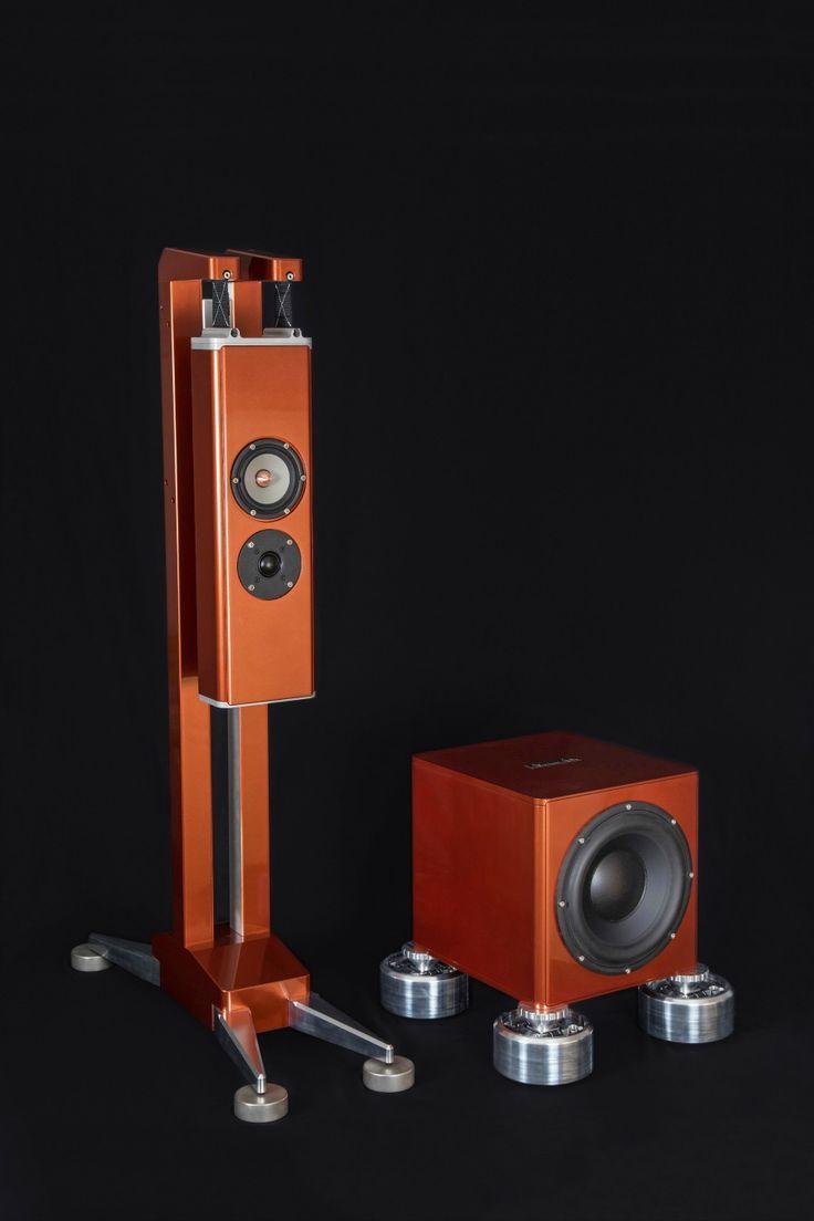 Aluminous Audio Gravitas Gravity Isolated Speaker System