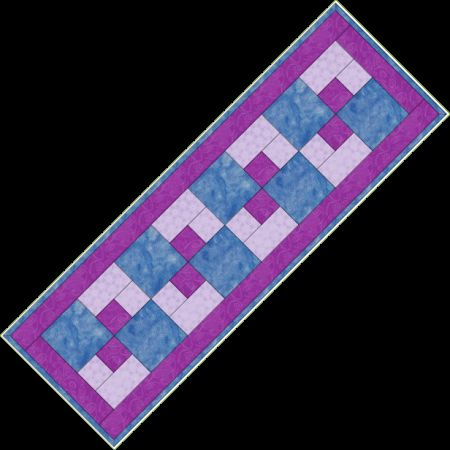 33 best table runner images on Pinterest | Quilting, Table runners ... : free easy table runner quilt patterns - Adamdwight.com