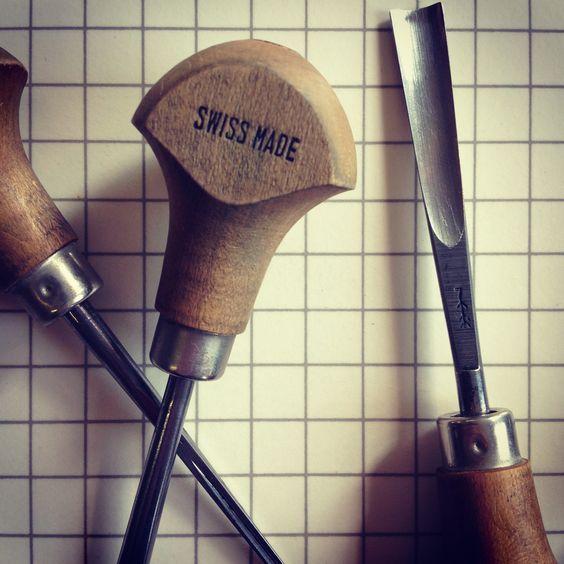 Linocut artist Nick Morley lists ten materials and tools every linocutter needs.