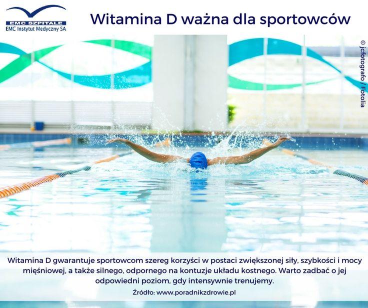 witamina D bardzo ważna dla sportowców #sport #witaminaD #emcszpitale #emc