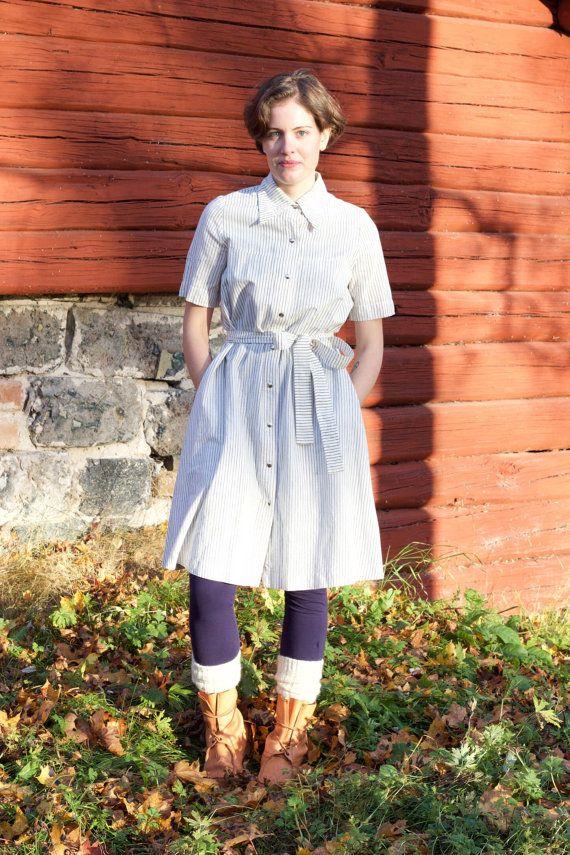 Vuokko Nurmesniemi Marimekko striped dress by AuroraNordicVintage
