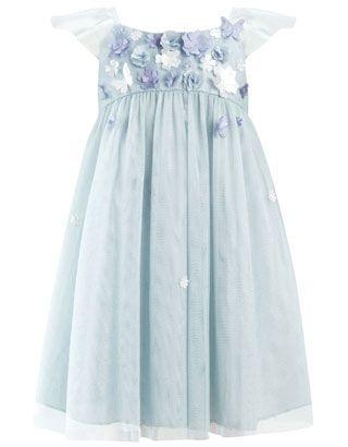 Baby Swift Dress | Blue | Monsoon