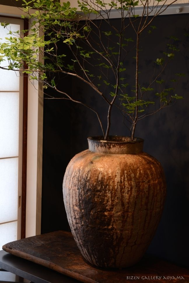 Charm of the O-Tsubo (Big pot) from Bizen Pottery
