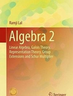 Algebra 2: Linear Algebra Galois Theory Representation theory Group extensions and Schur Multiplier 1st ed. 2017 Edition free download by Ramji Lal ISBN: 9789811042553 with BooksBob. Fast and free eBooks download.  The post Algebra 2: Linear Algebra Galois Theory Representation theory Group extensions and Schur Multiplier 1st ed. 2017 Edition Free Download appeared first on Booksbob.com.