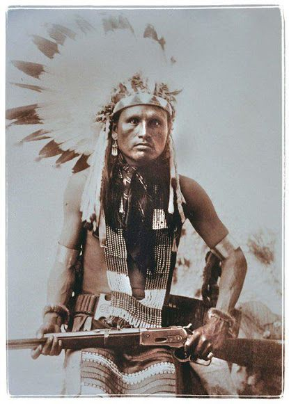 Hohtaheaenoh, Spotted Hawk, Northern Cheyenne-1889