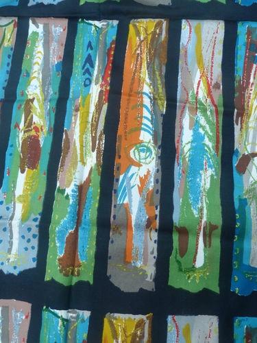 Sanderson fabric-John Piper 'Arundel'