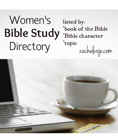 It's not always easy to find what you're looking for in the Women's Bible study department! Check out this directory, organized by book of the Bible, Bible character, and topic!